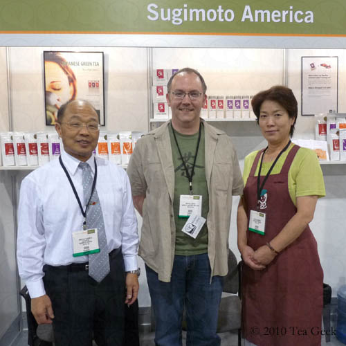 Michael J. Coffey with the Sugimotos
